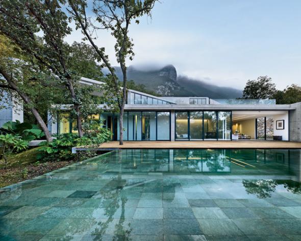 Casa Residencial diseñada por Tadao Ando en Monterrey