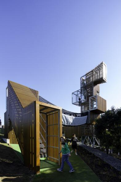 Un parque que rompe con las costumbres impuestas por la vida contemporánea.