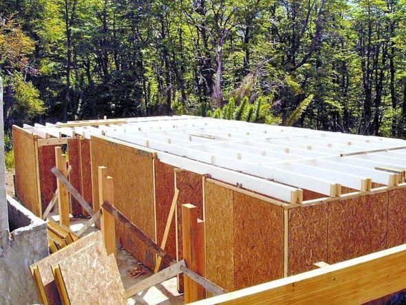 construye tu casa con paneles de madera