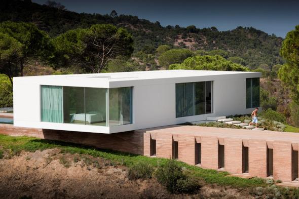 El minimalismo como estilo de vida. Casa en Melides.