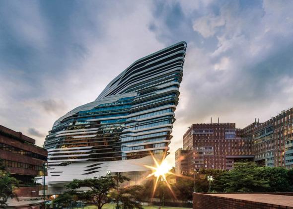 El centro líder del diseño en Asia a cargo de Zaha Hadid