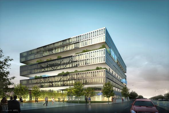 El nuevo Campus de Samsung