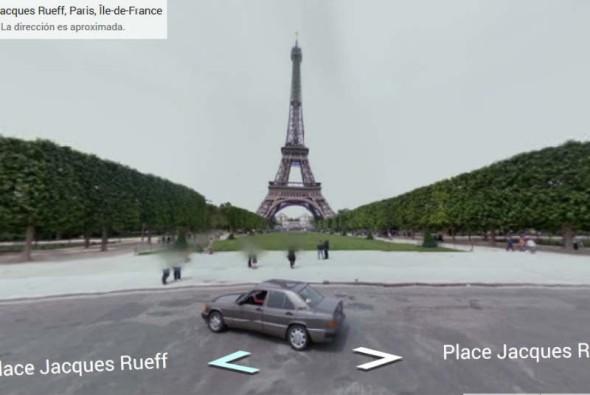 Logra recorrer la Torre Eiffel con Google
