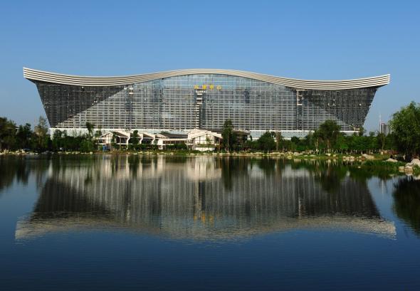 Inaugurado el edificio más grande del mundo