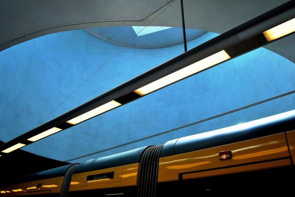 Estación de metro del Premio Pritzker