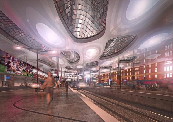 La propuesta sustentable para la Estación Flinders