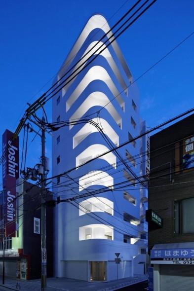 Un edificio japonés
