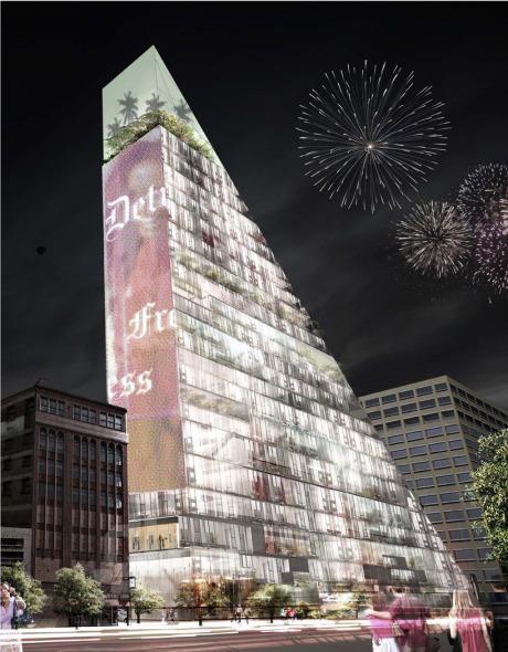 El potente triangulo de Detroit