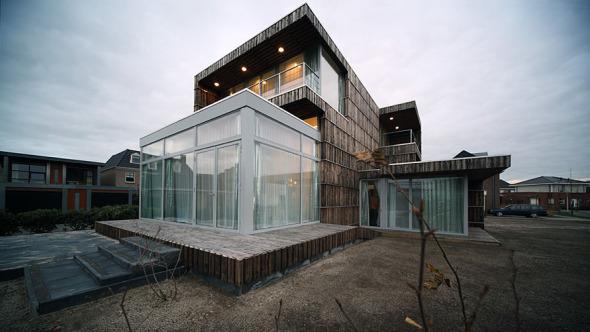 Casa 70% reciclada
