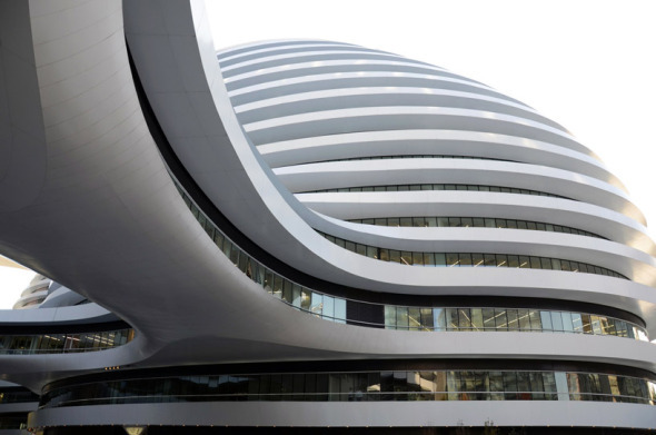 Galaxy Soho de Zaha Hadid, ha violado un gran número de leyes de preservación de la herencia cultural