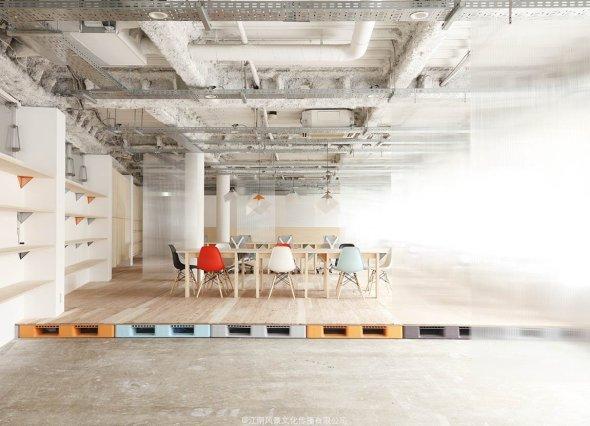 Un dise o abierto sencillo y econ mico para las oficinas for Oficinas de diseno y arquitectura