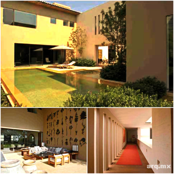 Equilibrio entre vivienda y patio. Casa Magnolia / Legorreta y Legorreta