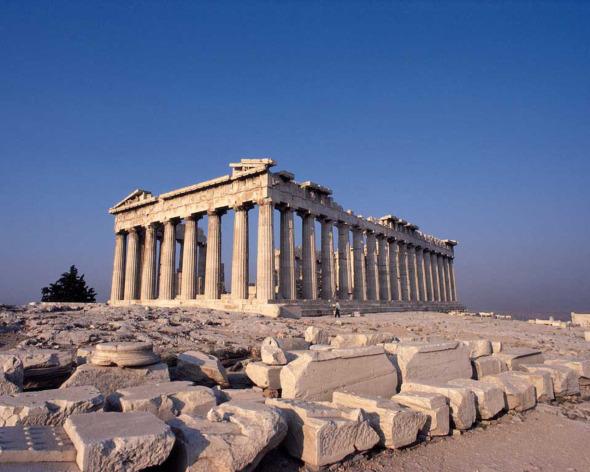 La Arquitectura Griega. Una cultura que pertenecía a la edad antigua.