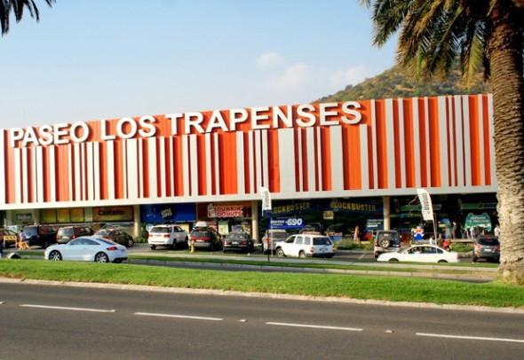 Centro comercial en Santiago.