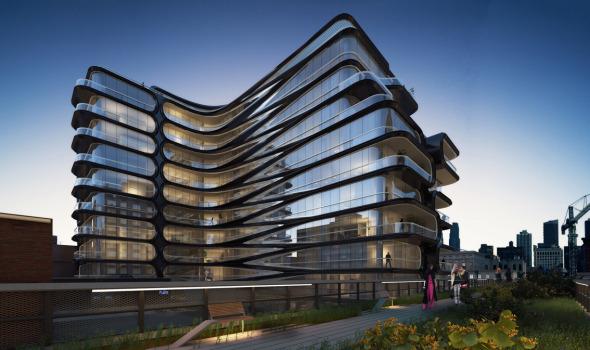 El primer proyecto de Zaha Hadid en Nueva York