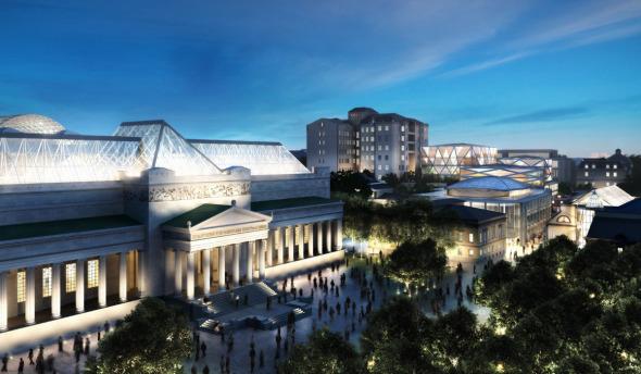 Norman Foster deja el proyecto de la Manzana de los museos