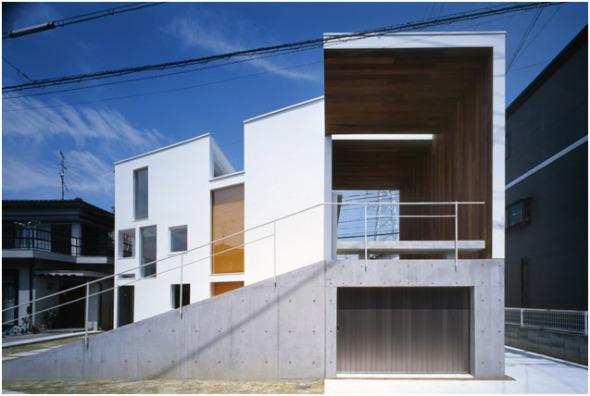 Unión de dos casas. I-Mango House / Takuro Yamamoto Architects