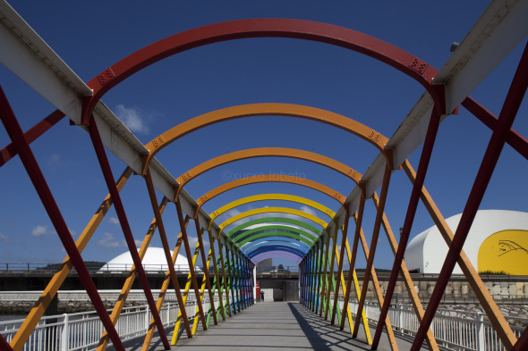 Centro Oscar Niemeyer de Asturias en fotografías de Xurxo Lobato