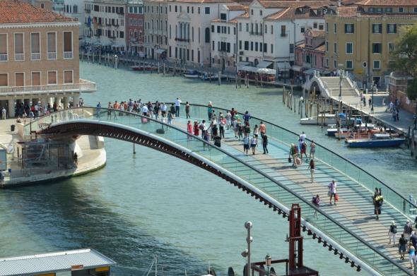 Santiago Calatrava será juzgado por Italia por el puente Venecia
