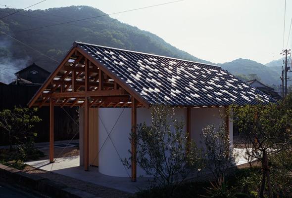 Diseño de baños públicos que conjuga lo tradicional y lo contemporáneo