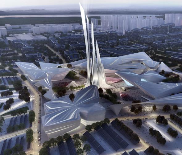 Show arquitectónico en la ex Unión Soviética. Zaha Hadid,Snohetta entre otros.