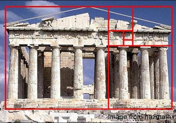 La proporción áurea en la arquitectura contemporánea