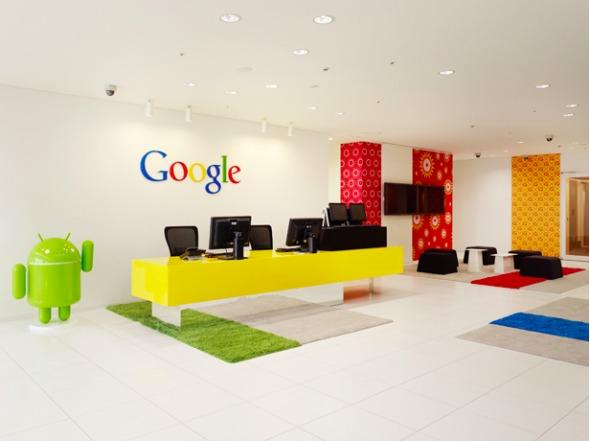 Oficinas de ensueño. Oficinas Google Tokio