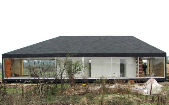 Una casa dentro de otra.