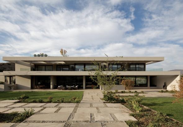 Espectacular terraza en vivienda