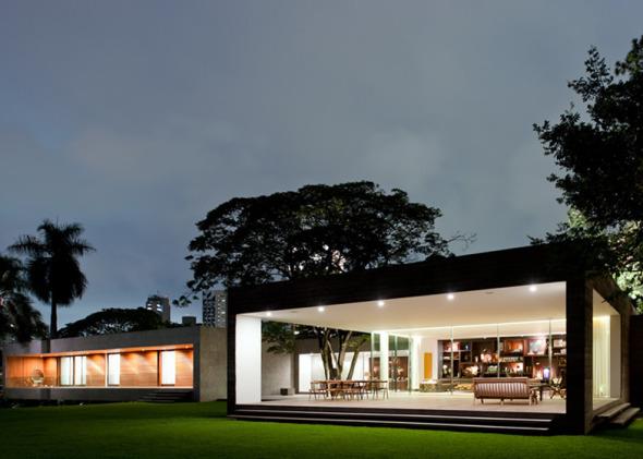 Cuatro bloques forman la casa perfecta