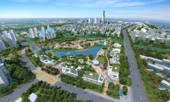 La urbanización sostenible más grande del mundo