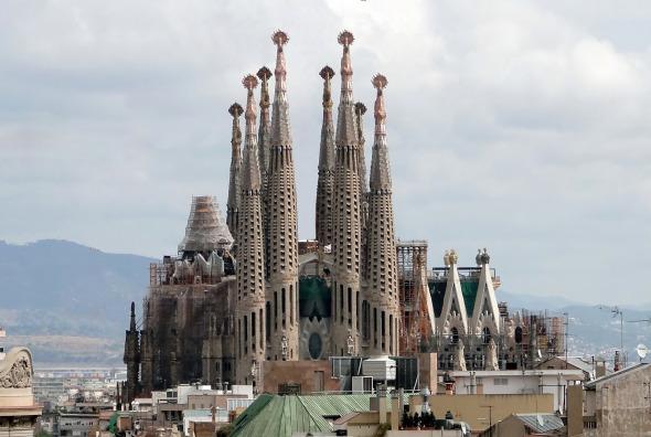 La construcción de la Sagrada Familia finalizará en 2026