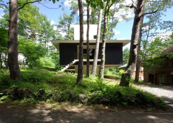 Casa Contemporánea con un toque japonés