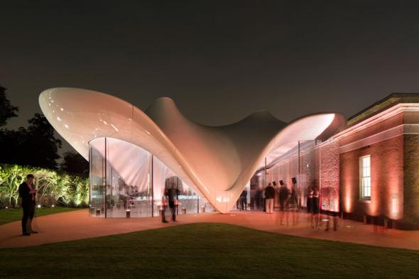 Se inaugura galería de Zaha Hadid