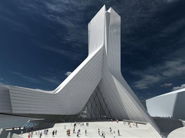 Zaha hadid architects buscador de arquitectura for Arquitectura zaha hadid