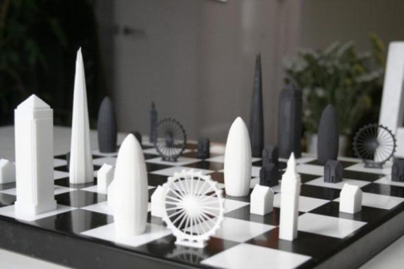 Juega ajedrez con edificios icónicos de Londres