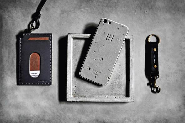 Carcasa de concreto para el iPhone 5