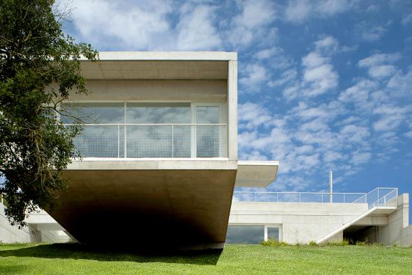 Una casa que flota