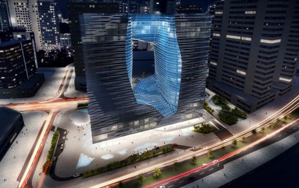 Pionero edificio de uso mixto por Zaha Hadid