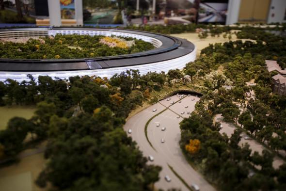 Nueva vista a las oficinas de Apple