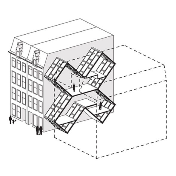 Viviendo entre edificios
