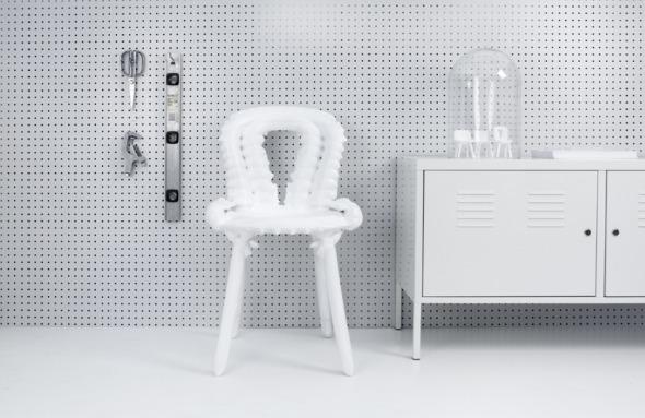 El futuro de los muebles: la impresión en 3D de la silla perfecta con ADN