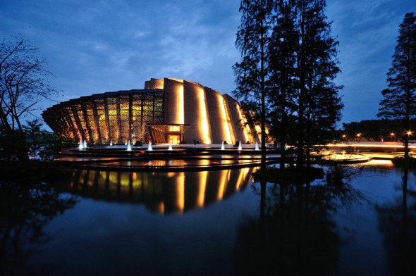 Emergiendo desde el Agua como el Loto: el Teatro Wuzhen