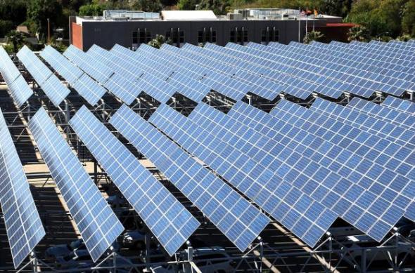 Paneles solares en México