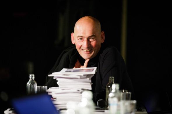 Rem Koolhaas es galardonado con el Premio Johannes Vermeer 2013