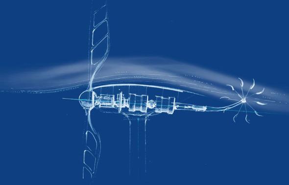 Renzo Piano diseña una turbina de viento casera