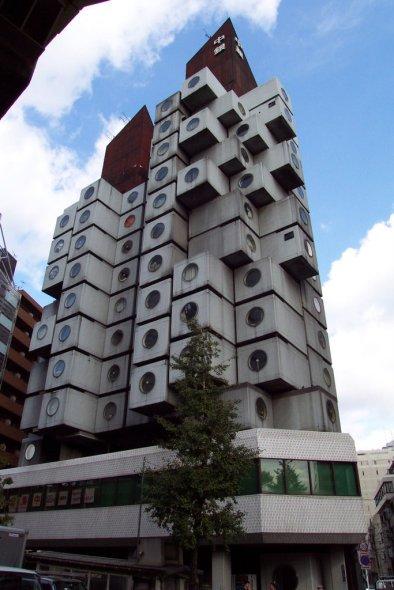 Torre Nagakin, imagen de un Tokio que no pudo ser