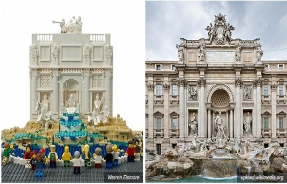 Construcciones famosas en sus versiones LEGO