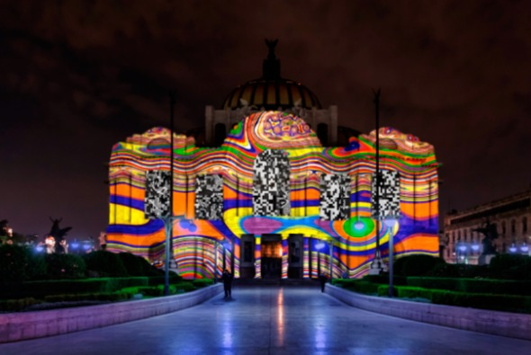 La Ciudad de México se ilumina con Festival de Luces