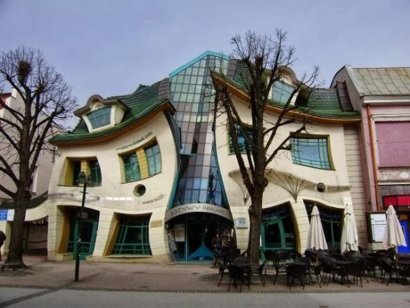 La arquitectura más extraña del mundo